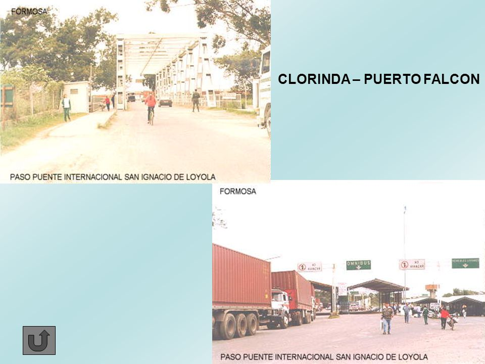 CLORINDA – PUERTO FALCON