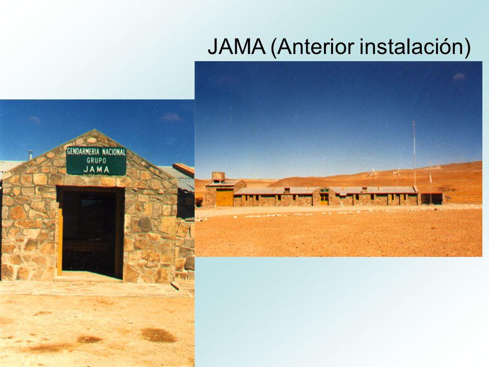 JAMA (Anterior instalación)