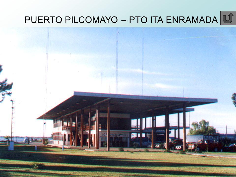 PUERTO PILCOMAYO – PTO ITA ENRAMADA