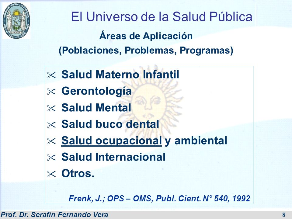 Prof. Dr. Serafín Fernando Vera 29 Instrumento: Plan de estudio (a)