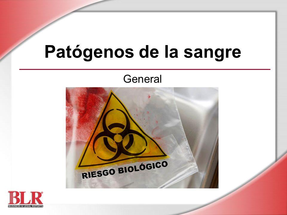 Patógenos de la sangre General