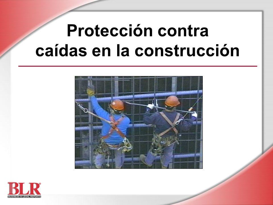 Protección contra caídas en la construcción