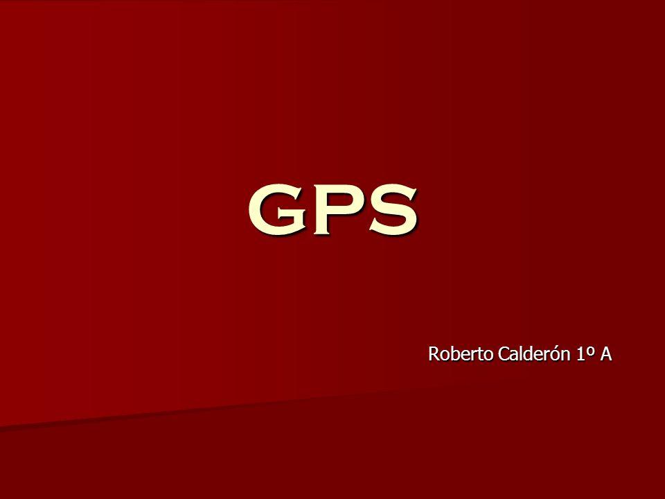 GPS Roberto Calderón 1º A