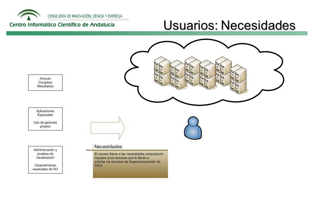 Usuarios: Necesidades