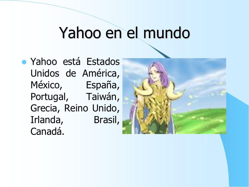 Yahoo! Grupos Es el servicio de yahoo que puedes crearte un grupo. Es la siguiente pagina: http://es.groups.yah oo.com/ o http://espanol.group s.yahoo