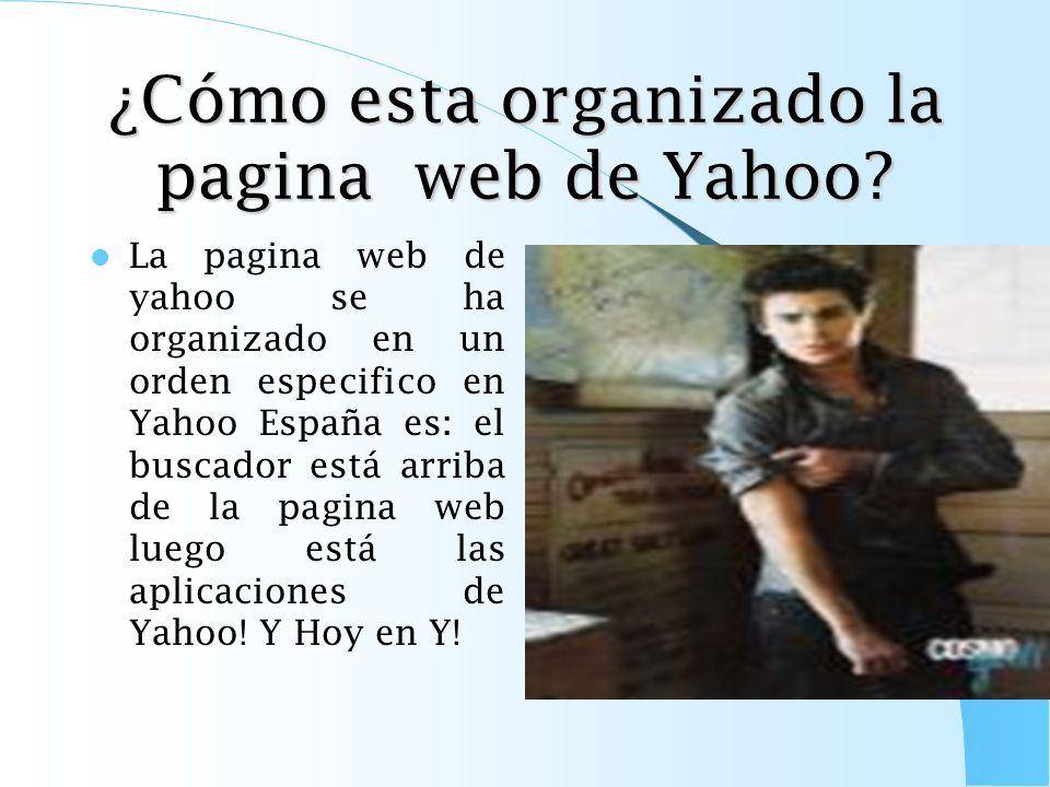 ¿Cómo hacer Yahoo tu pagina web de Inicio? Opción II Sé como hacer Yahoo como pagina de inicio. Una forma es ir a la siguiente pagina web http://es.ya