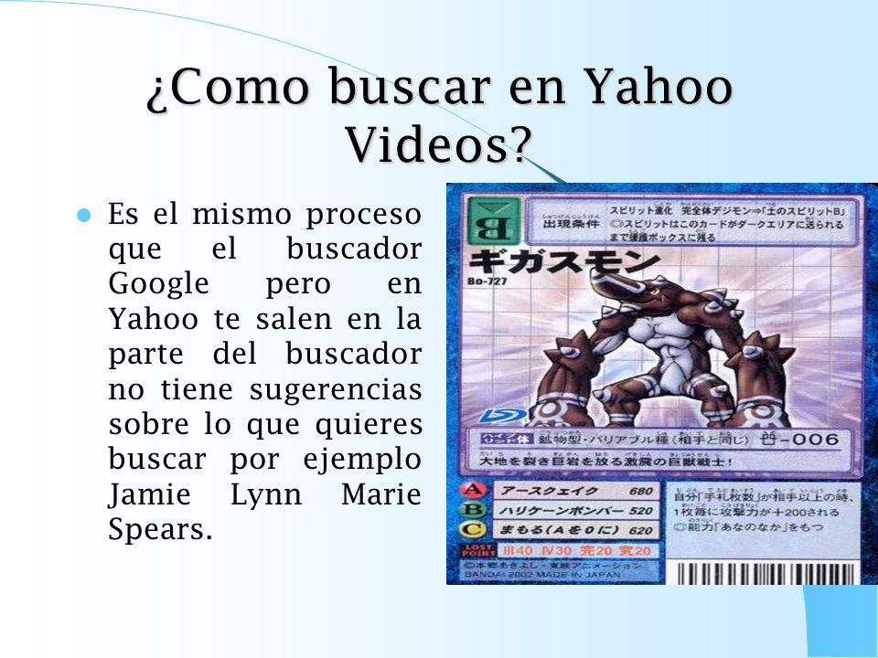 ¿Como buscar en Yahoo Imágenes? Es el mismo proceso que el buscador Google Imágenes pero en Yahoo no te salen en la parte del buscador de imágenes sug