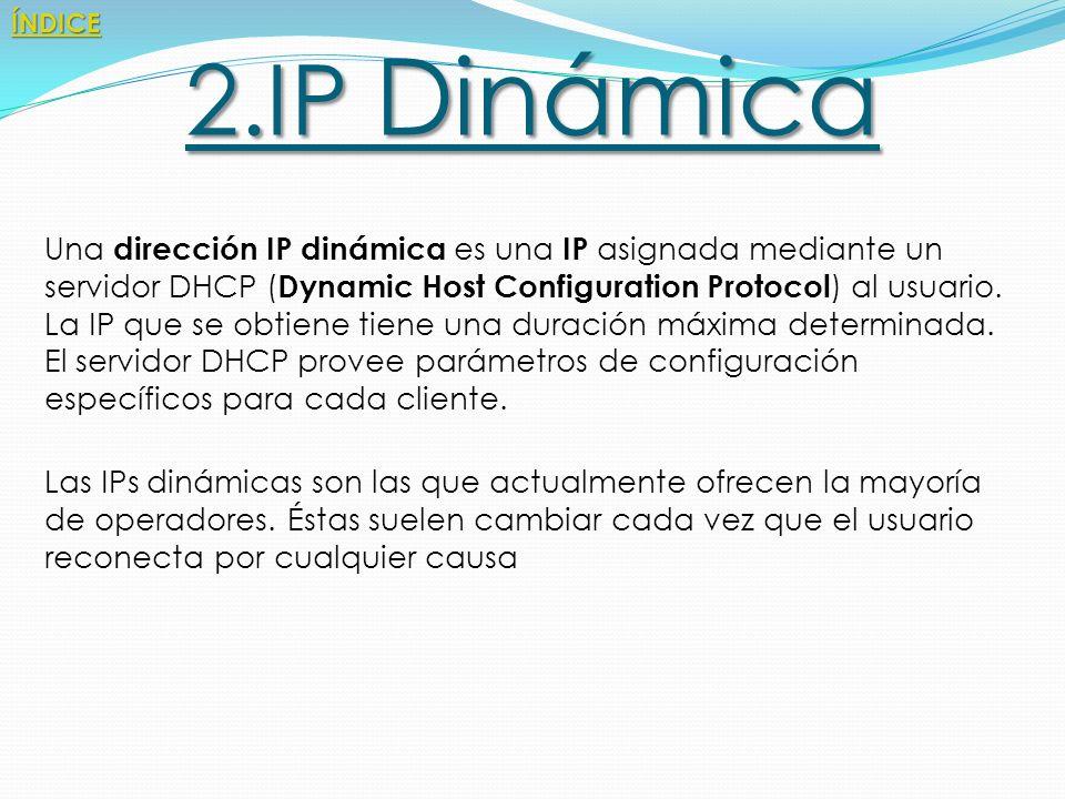 Direcciones IP.