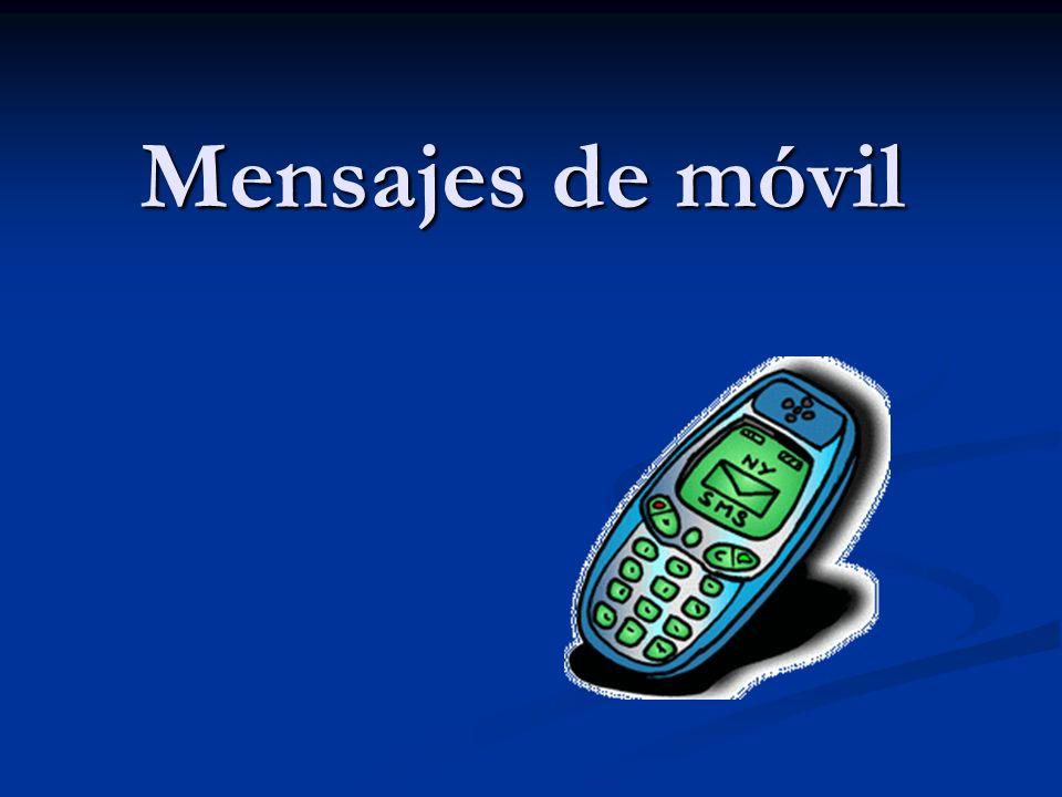 Mensajes de móvil