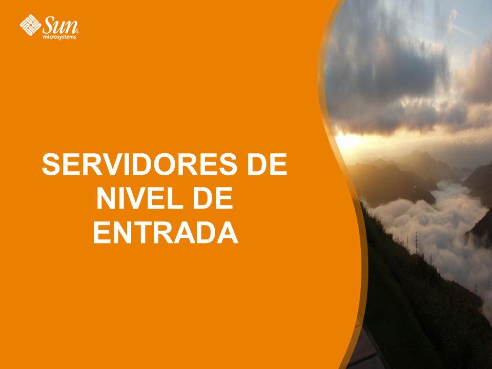 SERVIDORES DE NIVEL DE ENTRADA