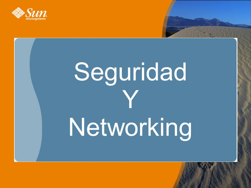 Seguridad Y Networking
