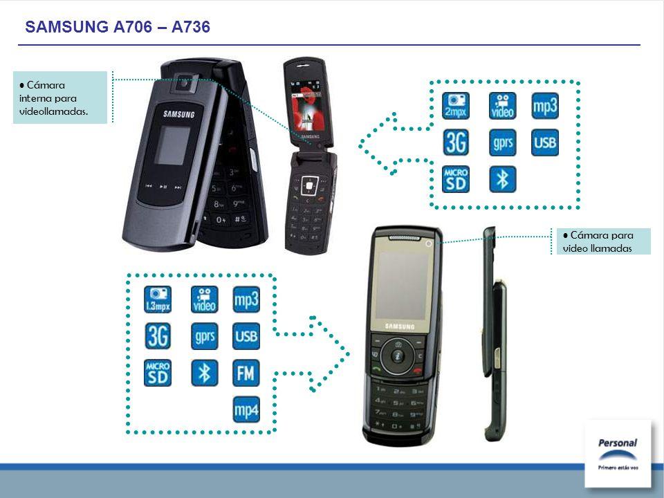 SAMSUNG A706 – A736 Cámara interna para videollamadas. Cámara para video llamadas