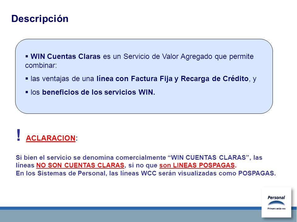 Alcance del Servicio Sólo para clientes Empresa, líneas Pospagas.