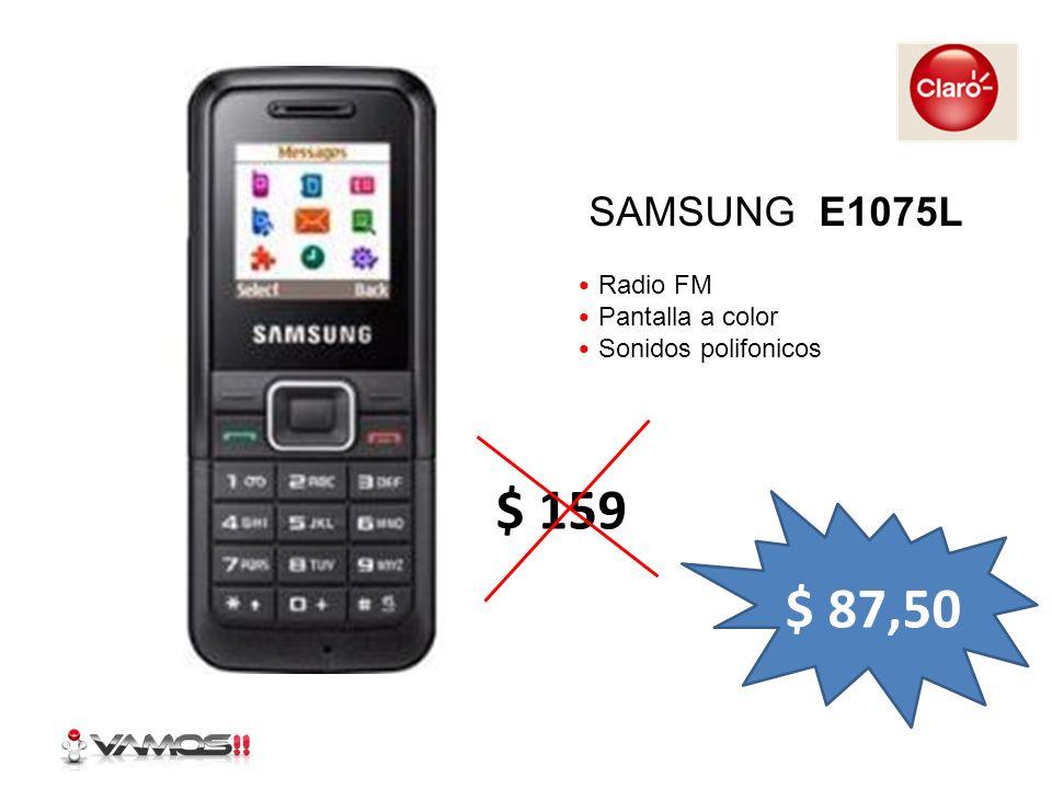 Reproductor MP3 Alta voz incorporado Radio FM USB LG KP110 $ 111,30 $ 179