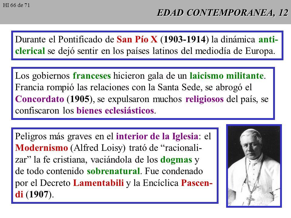 EDAD CONTEMPORANEA, 11 Siglo XIX: notable transformación de las realidades sociales: el auge del Capitalismo, la revolución industrial y la creación d