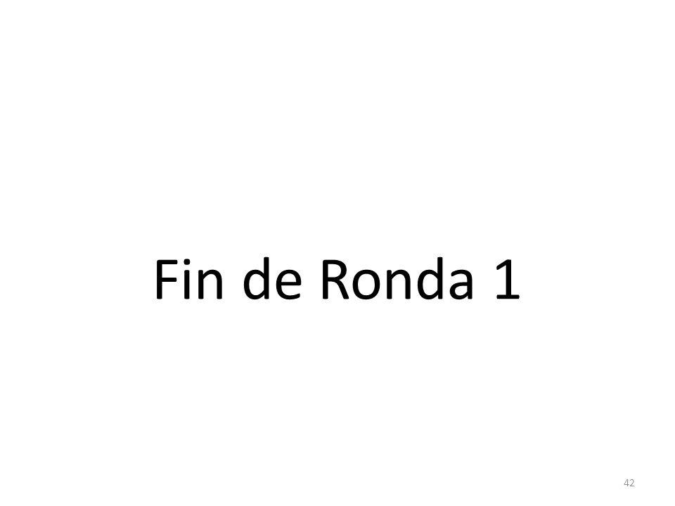 42 Fin de Ronda 1