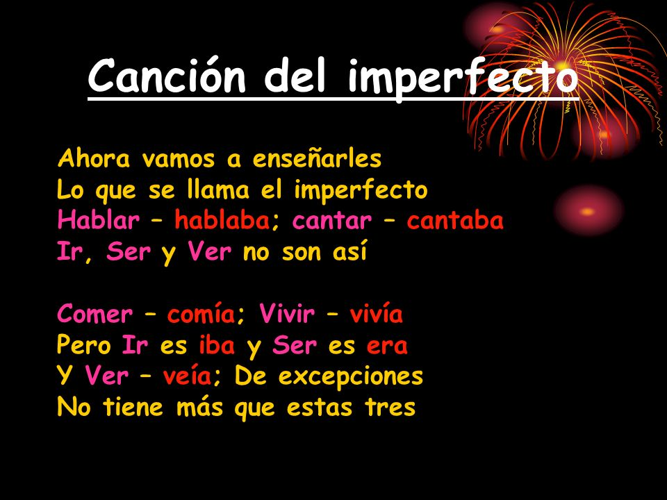 Escribe la forma correcta del imperfecto 1.Anita ______ [vivir] en Puerto Rico.