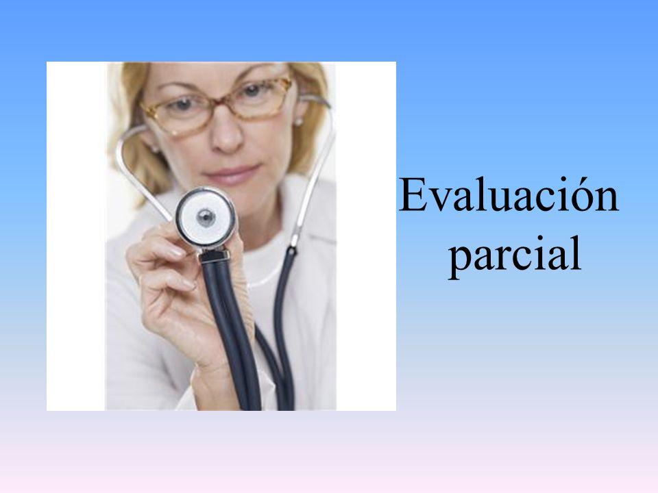 Evaluación parcial
