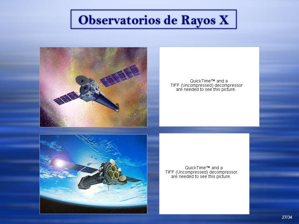 Observatorios de Rayos X 27/34