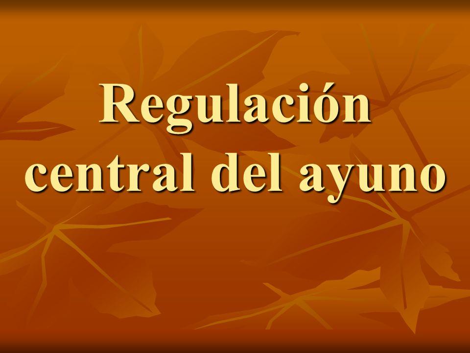 Regulación central del ayuno