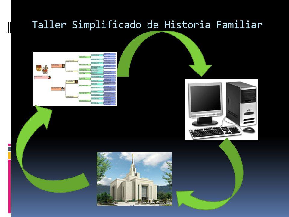 Taller Simplificado de Historia Familiar