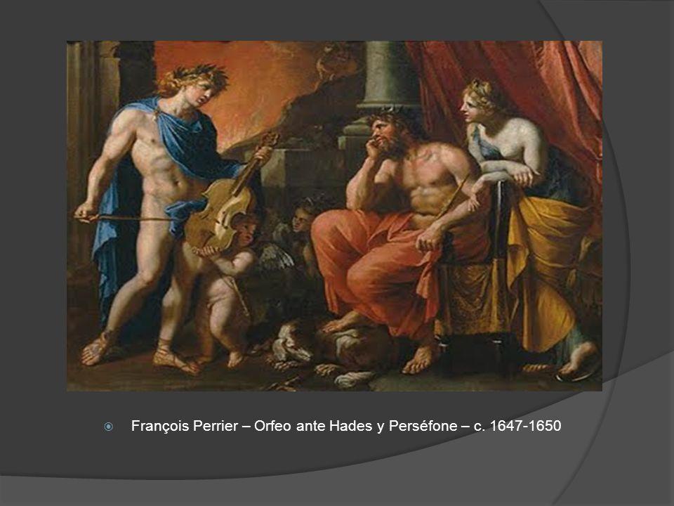 François Perrier – Orfeo ante Hades y Perséfone – c. 1647-1650