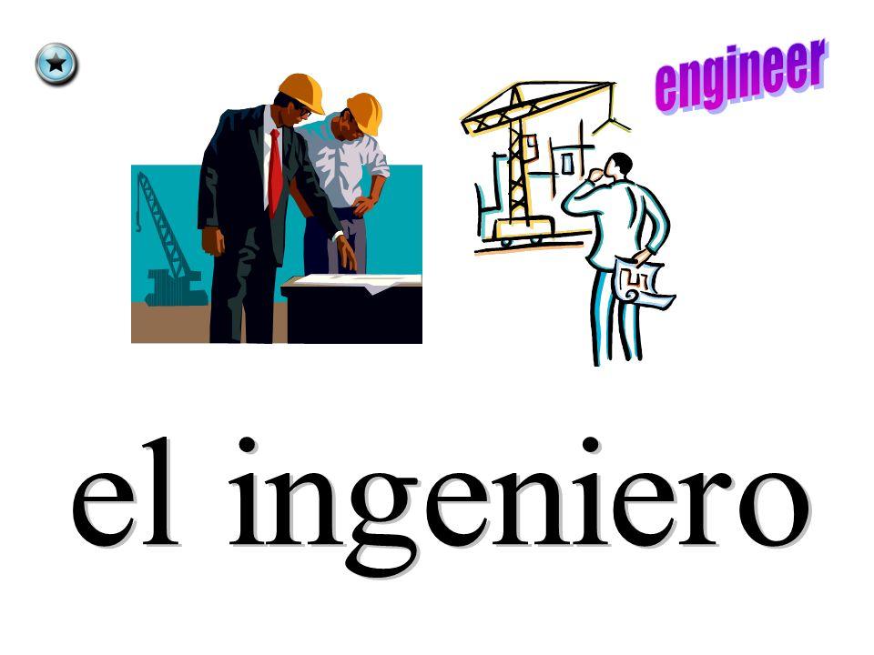 ingeniero peluquero cocinero conductor doctor abogado Change each noun to feminine form.
