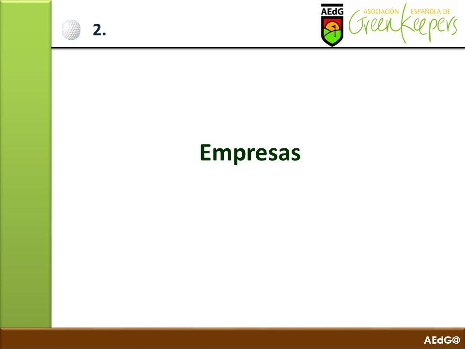 AEdG© 3.Presentación de Campos 3.1. Bunkers 3.2. Resiembras 3.3.