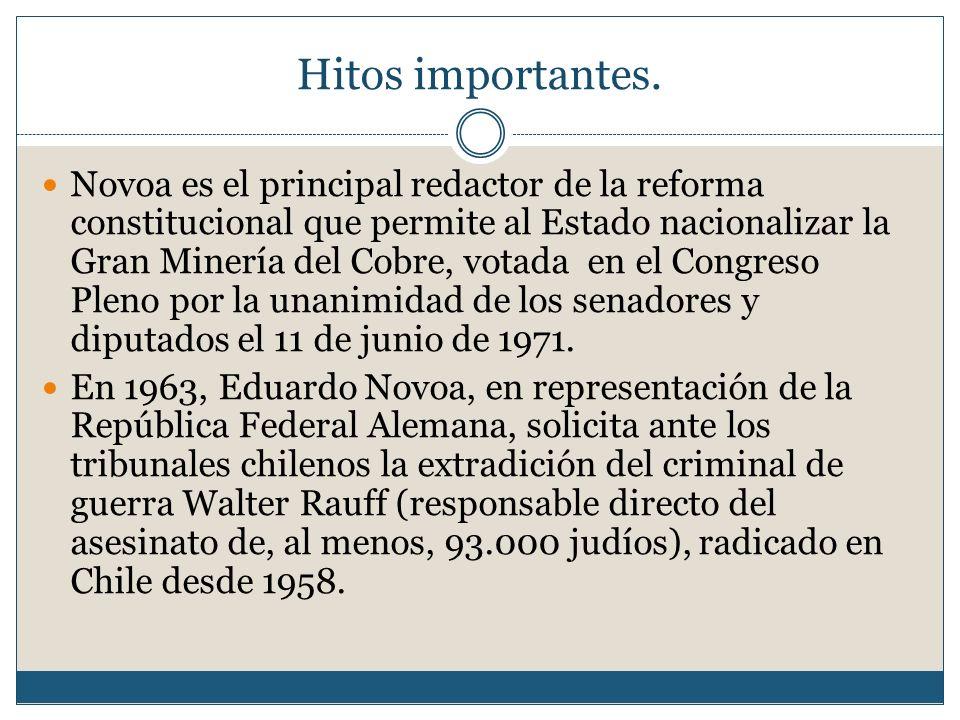 Chile en aquellos años: Década de 1960 Muchos juristas pensaban que en vez de que el derecho fuera un elemento que estimulara dicho cambio, este se presentaba más bien como un obstáculo al progreso, por ser un elemento asincrónico.