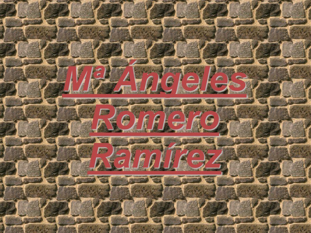 Mª Ángeles RomeroRamírez