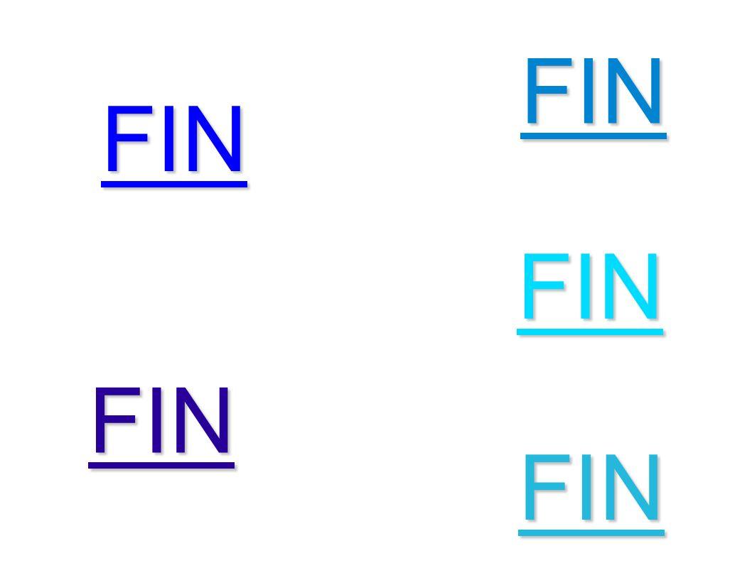 FIN FIN FIN FIN FIN