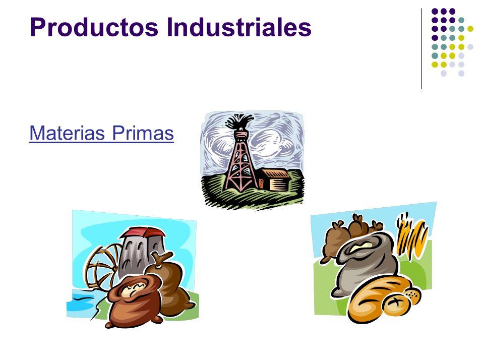 Materias Primas Productos Industriales