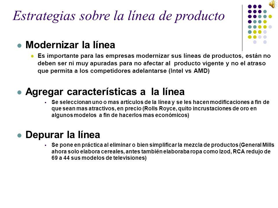Modernizar la línea Es importante para las empresas modernizar sus líneas de productos, están no deben ser ni muy apuradas para no afectar al producto