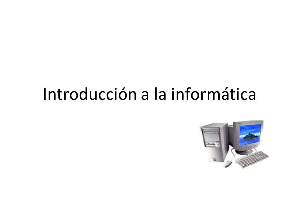 Pequeña Gran Historia de la Informática_____________________________________________ ¿Qué es la informática.