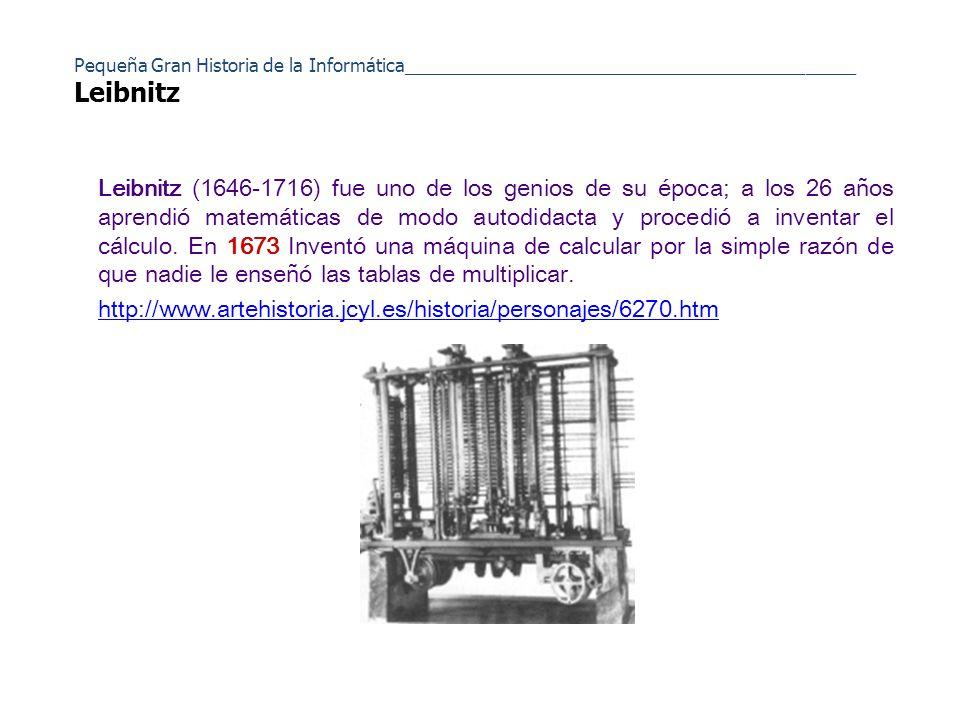 Aunque hubo muchos precursores de los actuales sistemas informáticos para muchos especialistas la historia empieza con Charles Babbage, matemático e inventor inglés.