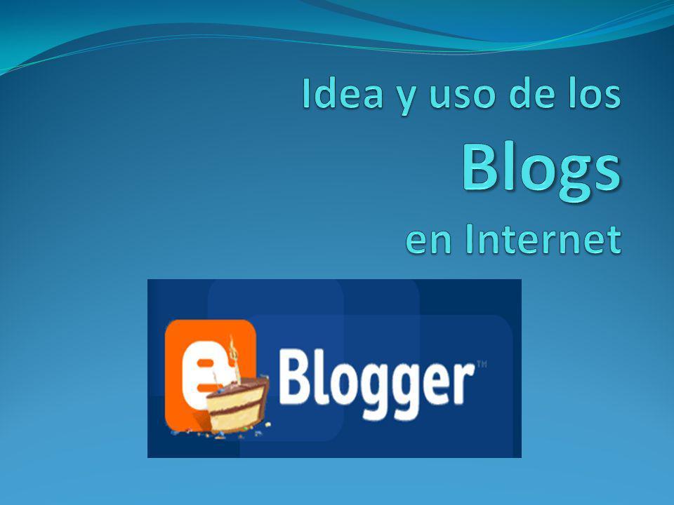 Blog ¿Qué es el Blog .