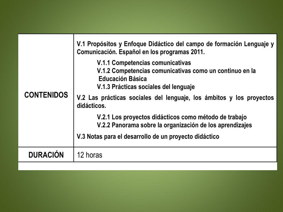 10 Actividades Un producto de trabajo: planificación de un proyecto didáctico de 3º o 4º grados.
