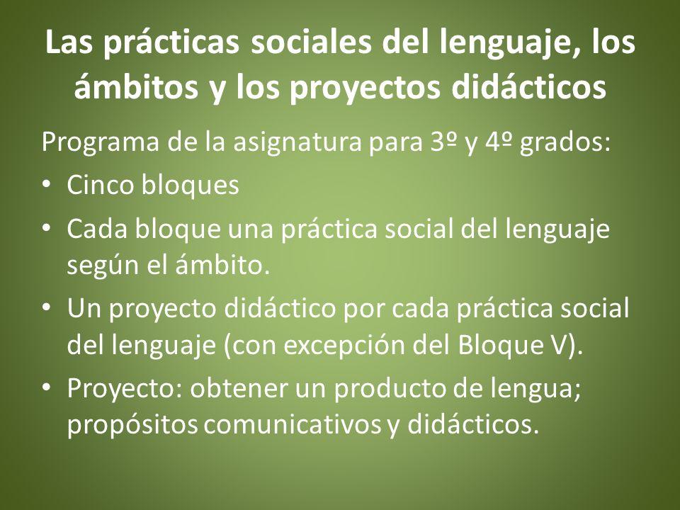 Prácticas sociales del lenguaje La apropiación de las prácticas sociales del lenguaje requiere de una serie de experiencias individuales y colectivas que involucren diferentes modos de leer, interpretar y analizar los textos; de aproximarse a su escritura y de integrarse en los intercambios orales.