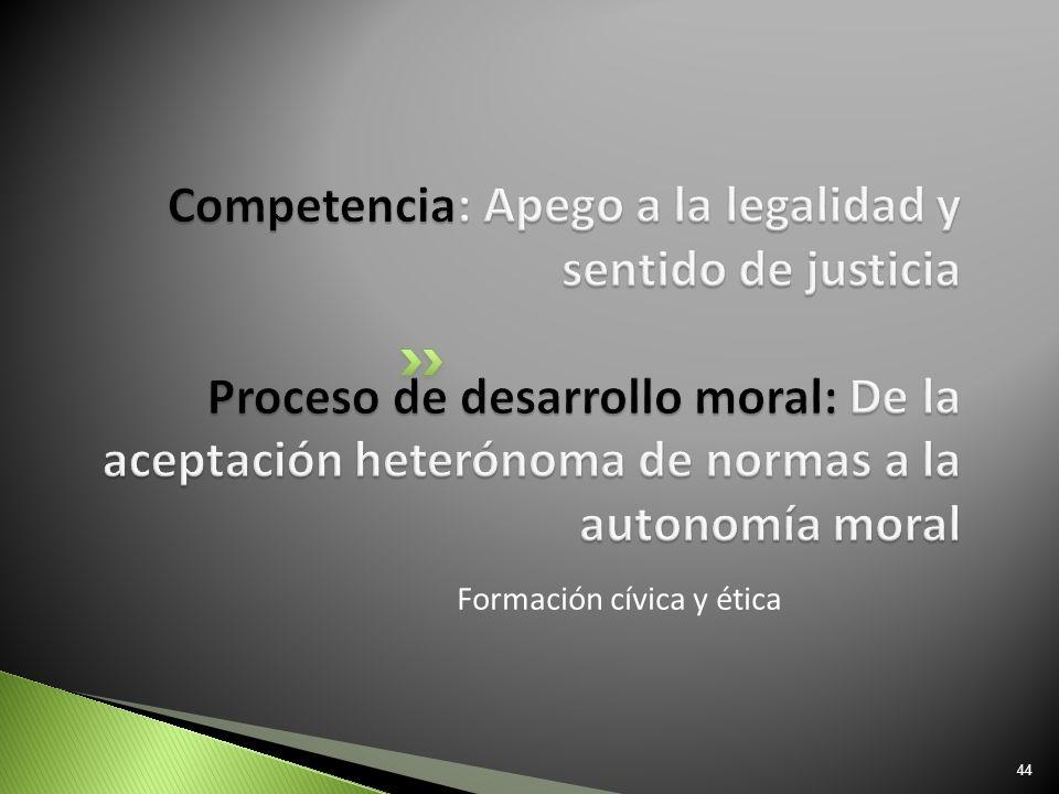 Formación cívica y ética 44