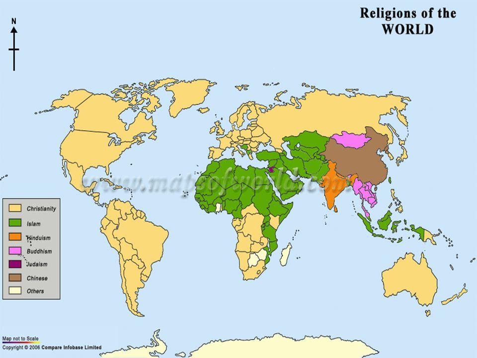 Lugares en donde se encuentra esta Religión