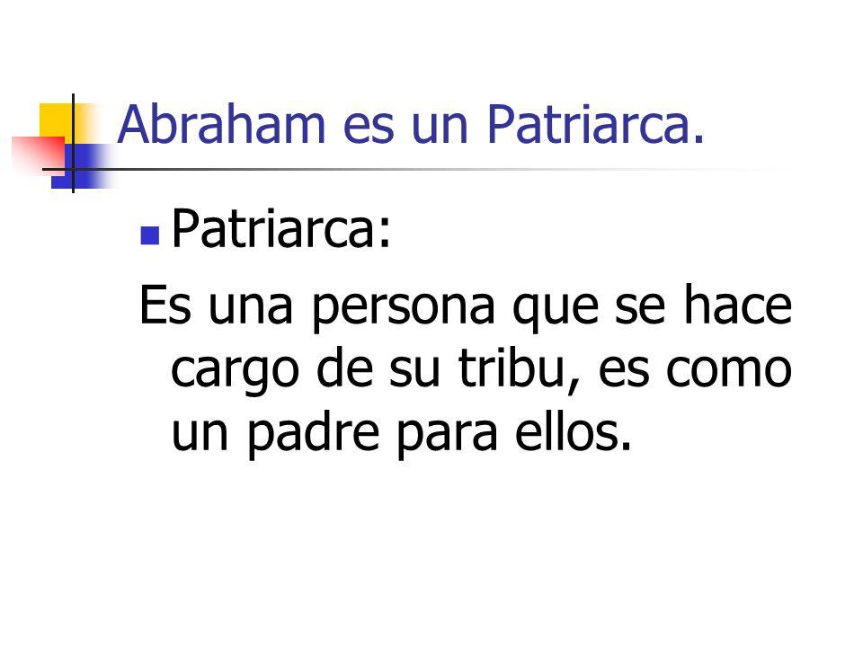 Dios hace un pacto con Abraham.¿ Qué es un PACTO.