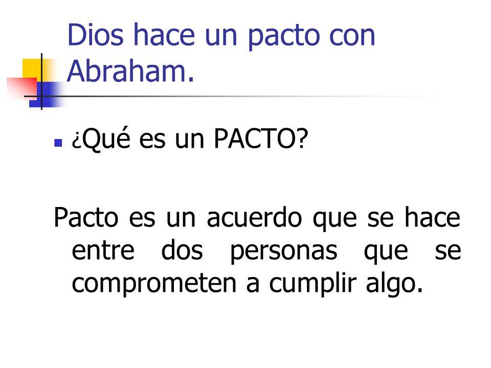 ¿En qué consiste el pacto?