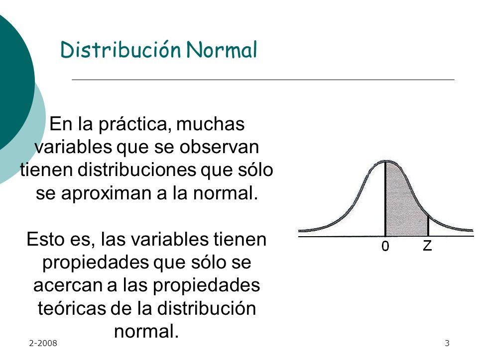 2-20083 En la práctica, muchas variables que se observan tienen distribuciones que sólo se aproximan a la normal.