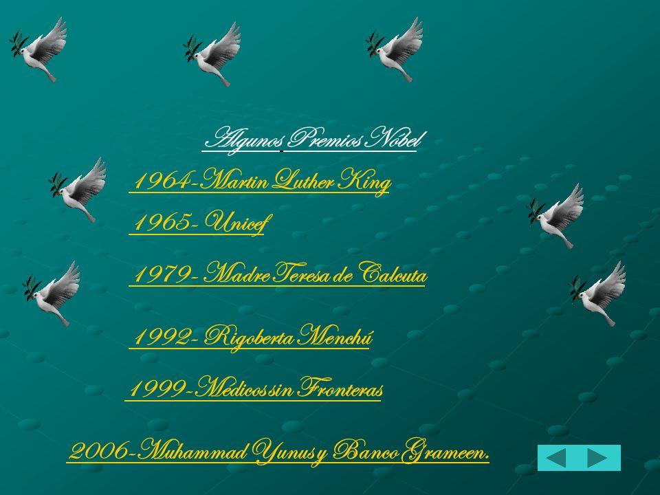 Premios Nóbel de la Paz El Premio Nóbel de la Paz es uno de los cinco premios Nóbel instituido por el inventor e industrial sueco Alfred Nobel.Los pre
