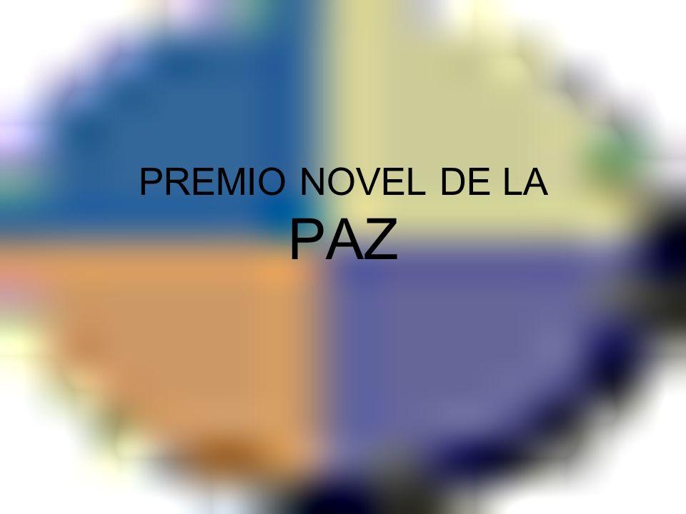 PREMIO NOVEL DE LA PAZ