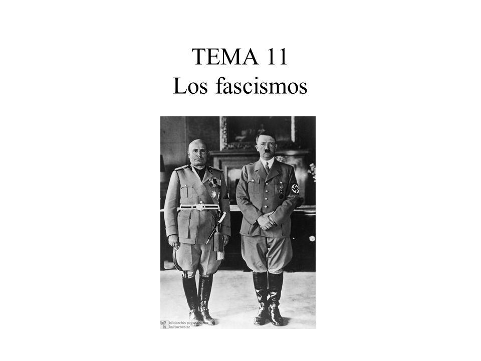 TEMA 11 Los fascismos