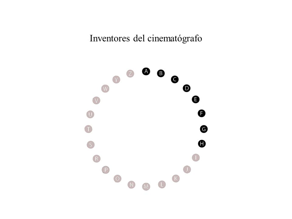 Inventores del cinematógrafo