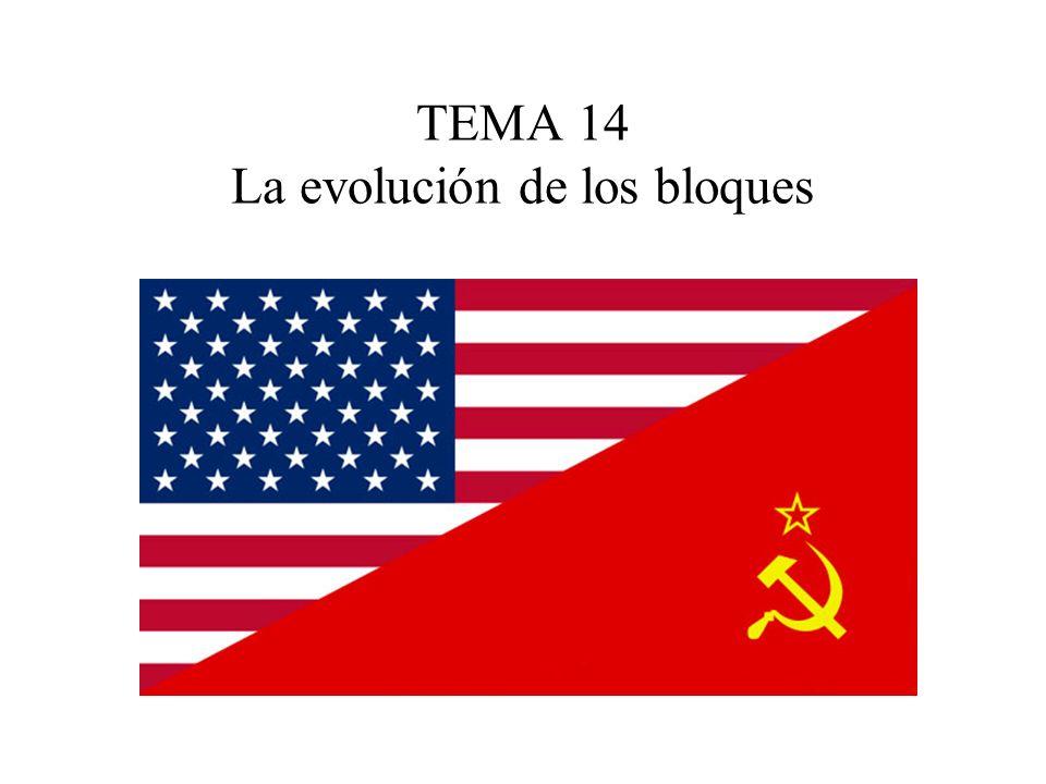 TEMA 14 La evolución de los bloques