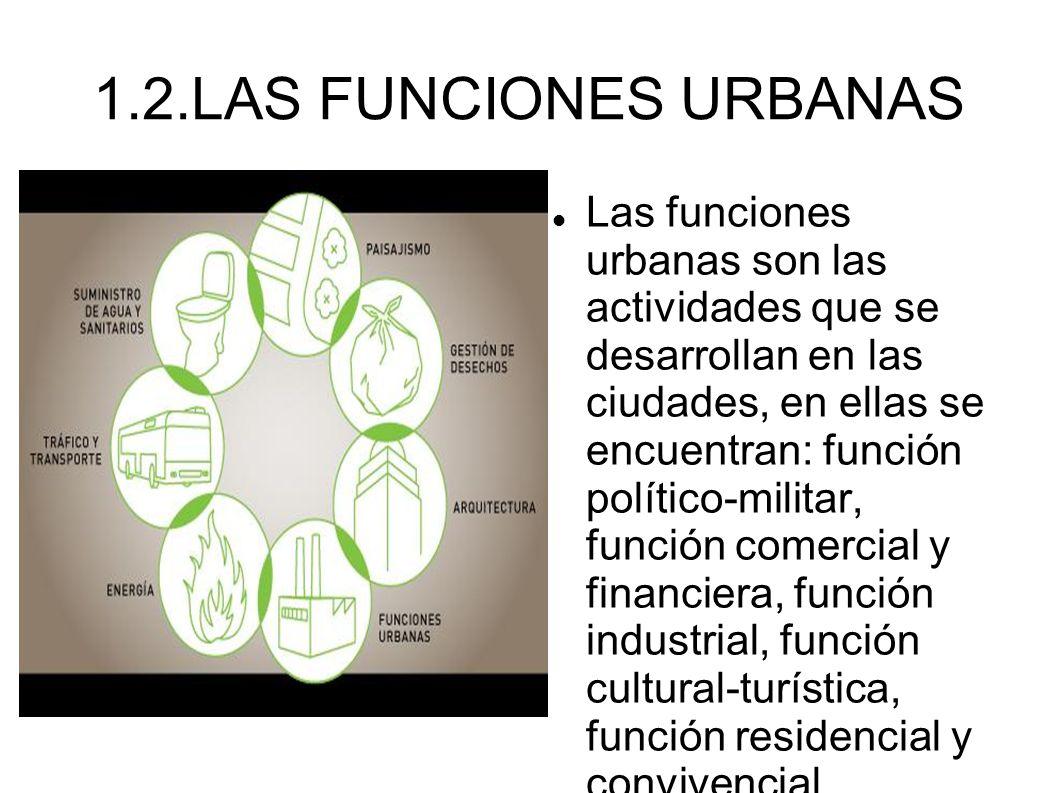 4.2 La jerarquía urbana Metrópolis mundiales.