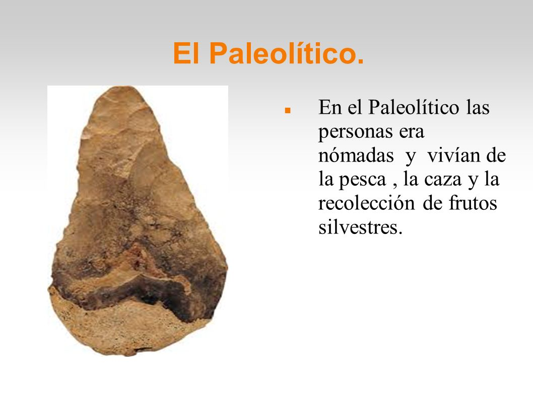 El Neolítico y la Edad de los Metales.En el Neolítico surgieron la agricultura y la ganadería.